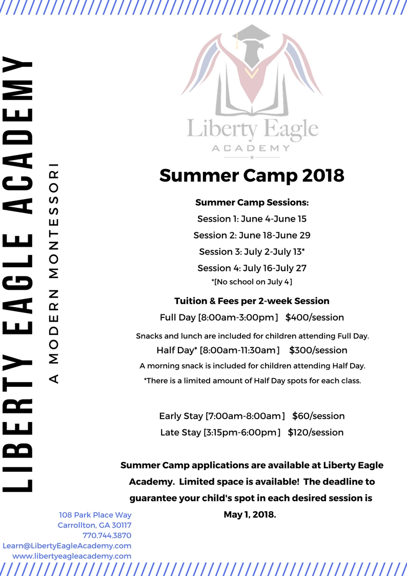 Summer Camp Tuition & Fees